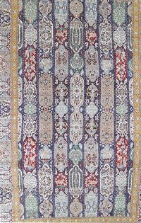 Palace Sized Wool/Silk Nain Persian Rug 16x26