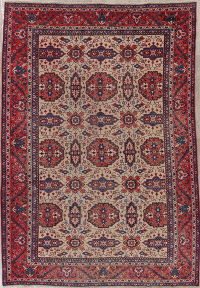 Antique Heriz Persian Wool Rug 8x11