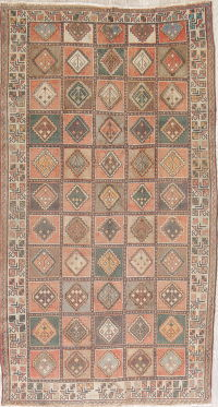 Geometric Bakhtiari Persian Area Rug 5x9 Wool