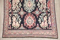 Antique Navy Blue Sultanabad Persian Runner Rug 5x9 image 5