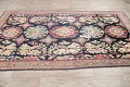 Antique Navy Blue Sultanabad Persian Runner Rug 5x9 image 11