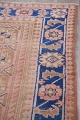 Antique Muted Distressed Malayer Persian Runner Rug 4x11 image 16