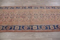 Antique Muted Distressed Malayer Persian Runner Rug 4x11 image 17