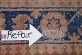 Antique Muted Distressed Malayer Persian Runner Rug 4x11 image 14