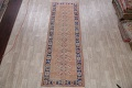 Antique Muted Distressed Malayer Persian Runner Rug 4x11 image 2