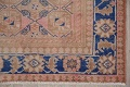 Antique Muted Distressed Malayer Persian Runner Rug 4x11 image 6