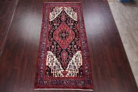 Black Bakhtiari Persian Wool Rug 5x11