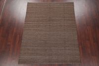 Flat-Weave Kilim Turkish Area Rug Wool 6x8