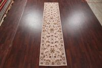 Floral Kashan Indian Runner Rug 3x12