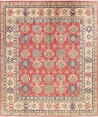 Red Super Kazak Pakistan Wool Rug 8x10