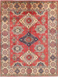 Red Super Kazak-Chechen Oriental Area Rug 8x10