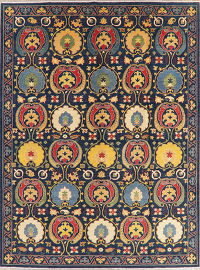 Art & Craft Kazak-Chechen Oriental Area Rug 9x12