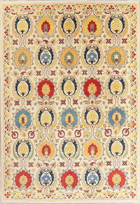 Art & Craft Kazak-Chechen Oriental Area Rug 8x11