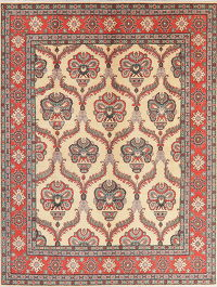Art & Craft Kazak Pakistan Wool Rug 8x11