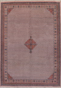 Indo Mir Pink Oriental Area Rug 8x11