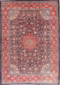 Vintage Floral Mahal Persian Area Rug 10x14