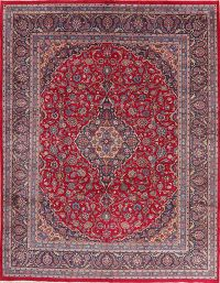 Traditional Floral Kashmar Persian Wool Area Rug 10x13