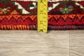 Tribal Abadeh Red Persian Wool Rug 5x8 image 18
