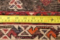 Tribal Abadeh Red Persian Wool Rug 5x8 image 19