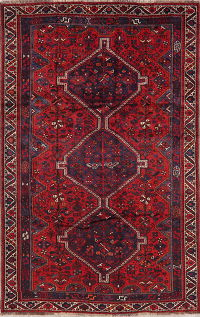 Tribal Geometric Lori Persian Area Rug 6x10