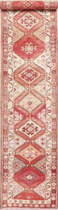 Oushak Turkish Oriental Wool Runner Rug 3x13