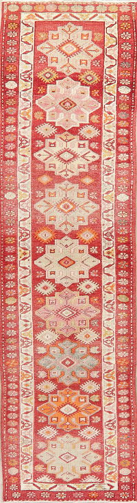 Oushak Turkish Oriental Wool Runner Rug 3x11
