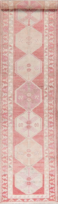 Oushak Turkish Oriental Wool Runner Rugs 3x13