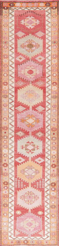 Oushak Turkish Oriental Wool Runner Rugs 3x11