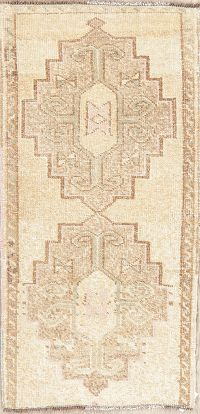 Geometric Oushak Turkish Oriental Wool Rug 2x3