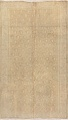 Antique Muted Gold Distressed Sarouk Persian Wool Rug 5x8 image 1