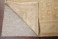Antique Muted Gold Distressed Sarouk Persian Wool Rug 5x8 image 7