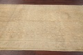 Antique Muted Gold Distressed Sarouk Persian Wool Rug 5x8 image 14