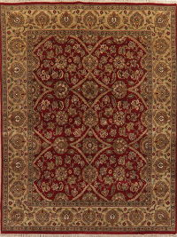 Traditional Floral Agra Red Indo Oriental Area Rug 8x10