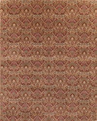 Transitional All-Over Art & Craft Oriental Wool Rug 8x12