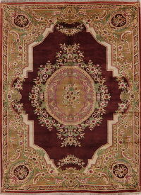 Victorian Style Aubusson Indo Oriental Area Rug 8x11