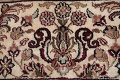 All-Over Black Floral Agra Oriental Wool Rug 9x12 image 9