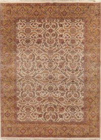 All-Over Floral Agra Indo Oriental Area Rug 9x12