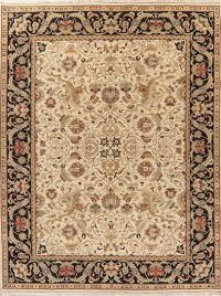 Traditional Floral Agra Indo Oriental Area Rug 9x12