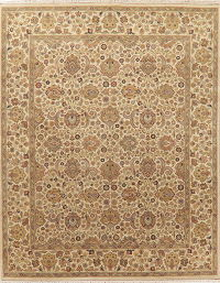 All-Over Floral Agra Indo Oriental Area Rug 8x10