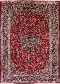 Floral Red Najafabad Persian Area Rug 10x13