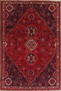 Tribal Geometric Shiraz Persian Area Rug 7x11