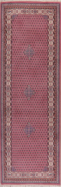 Geometric Bidjar Indian Oriental Wool Rug