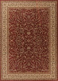 Floral Red Classic Turkish Oriental Area Rug 8x11