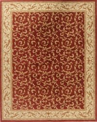 Floral Red Turkish Oriental Area Rug 8x10
