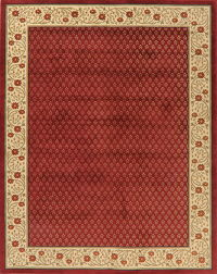 Floral Red Modern Turkish Oriental Area Rug 8x10