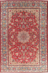 Antique Floral Red Joshaghan Persian Wool Rug 10x15