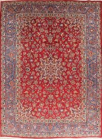 Vintage Floral Red Joshaghan Persian Wool Area Rug 10x14
