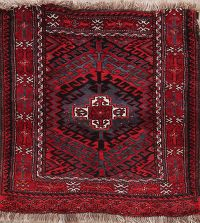 Geometric Balouch Persian Wool Rug 2x2 Square