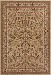 Brown Floral Aubusson Turkish Oriental Area Rug 7x10