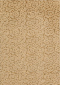 Brown Floral Modern Turkish Oriental Area Rug 7x9